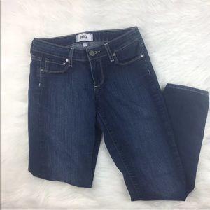 Paige Skyline Ankle Peg Skinny Jeans 25